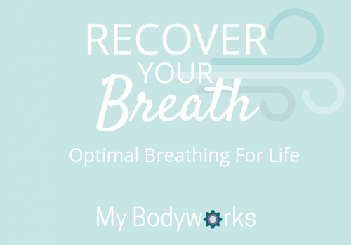 Recover your Breath logo white